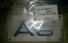 Genuine Audi A3 Rear Lid Tailgate Boot Chrome Flap Emblem Badge 8P0853741