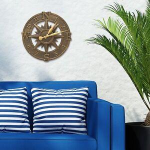 Compass-Rose-16-034-Indoor-Outdoor-Wall-Clock