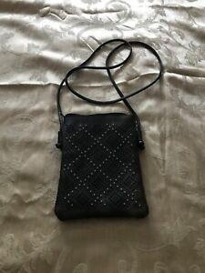 Beaded-crossbody-women-s-purse-handbag-brown-leather-imitation-cellphone-pocket