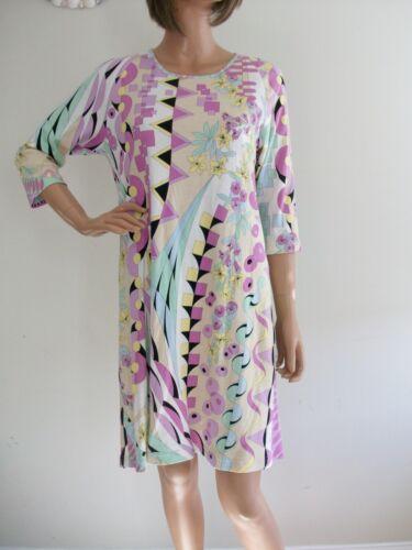 Vintage Averardo Bessi Mod Dress~Colorful Pastel F