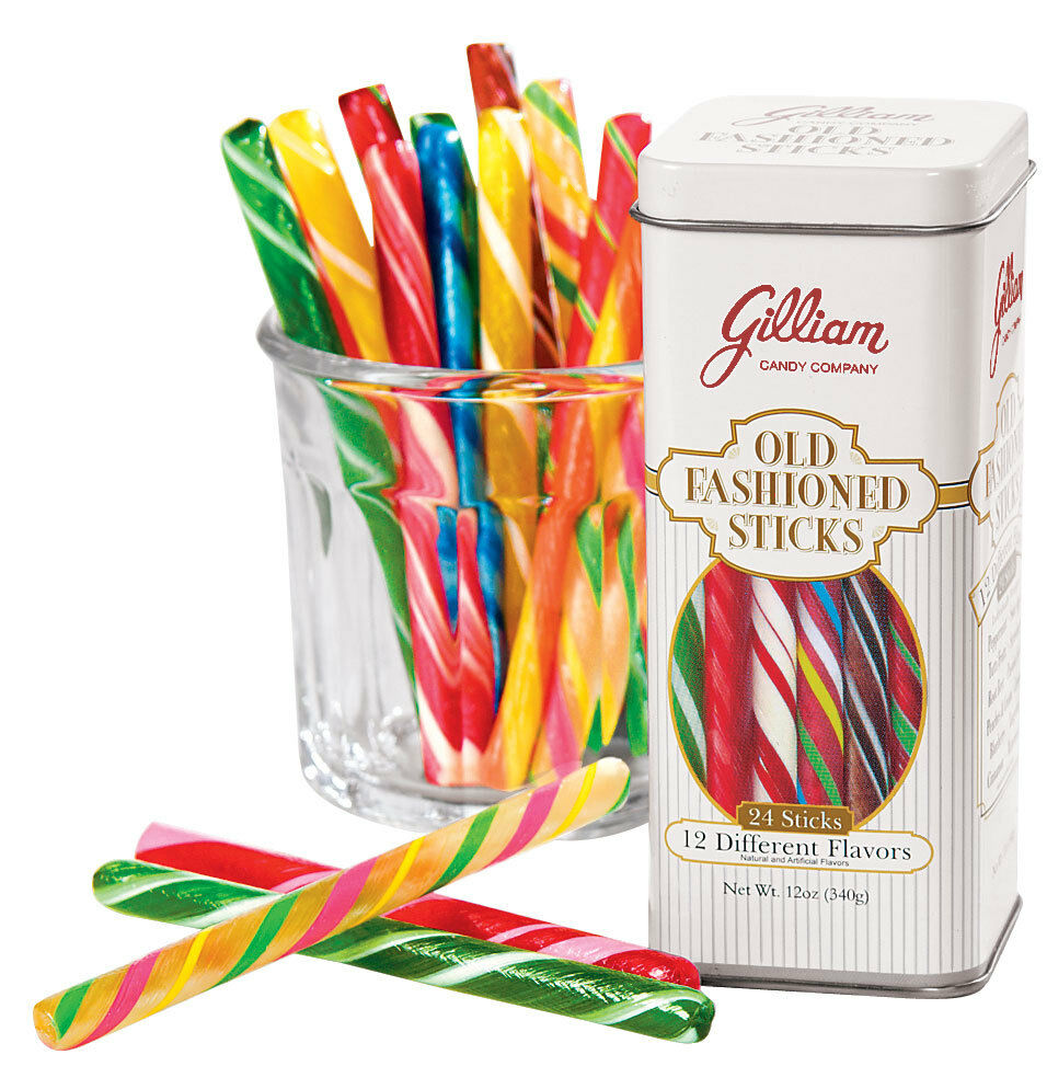 Gilliam Old Fashioned Candy Sticks Assorted 12 Ounce   eBay