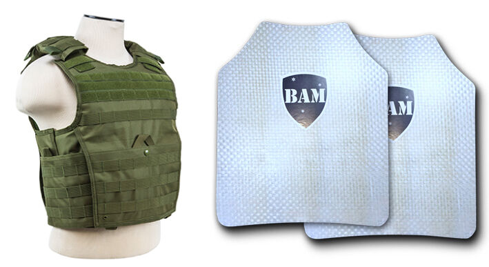 Body Armor   Bullet Proof Plates   ArmorCore   Level IIIA+ 3A+ 10x12 -Expert OD