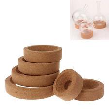 10 5000ml Flask Laboratory Bottle Cork Stand Ring Holder Round Bottom Supplies