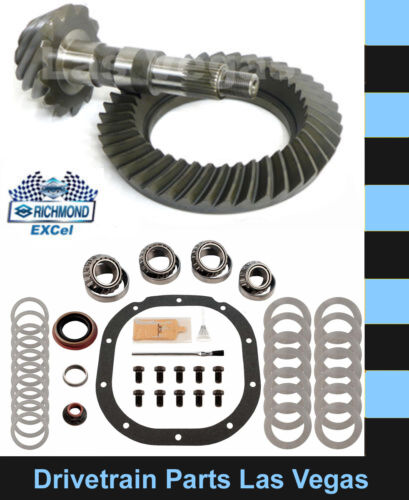 """Master Install Kit Excel Ford 8.8/"""" 10 Bolt 3.55 Ratio Ring and Pinion Gear Set"""