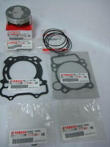 FOR-2008-2009-YAMAHA-YZ250F-TOP-END-PISTON-KIT-W-GASKETS-OEM-GENUINE-REPLACEMENT