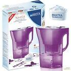 Brita Navelia pasión violeta 2.3l Filtro de Agua Jarra + 1 Maxtra Cartucho