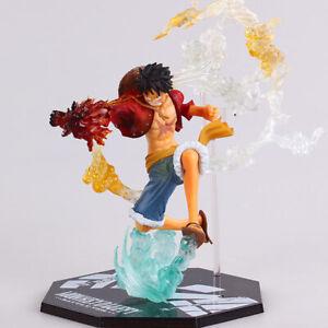 "Anime One Piece Monkey D Luffy PVC Figure Model 6.5/"" with Box"
