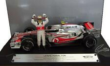 McLaren Mercedes MP4-22 1st Win L. Hamilton scale 1:18 Hotwheels NEW in Box !!