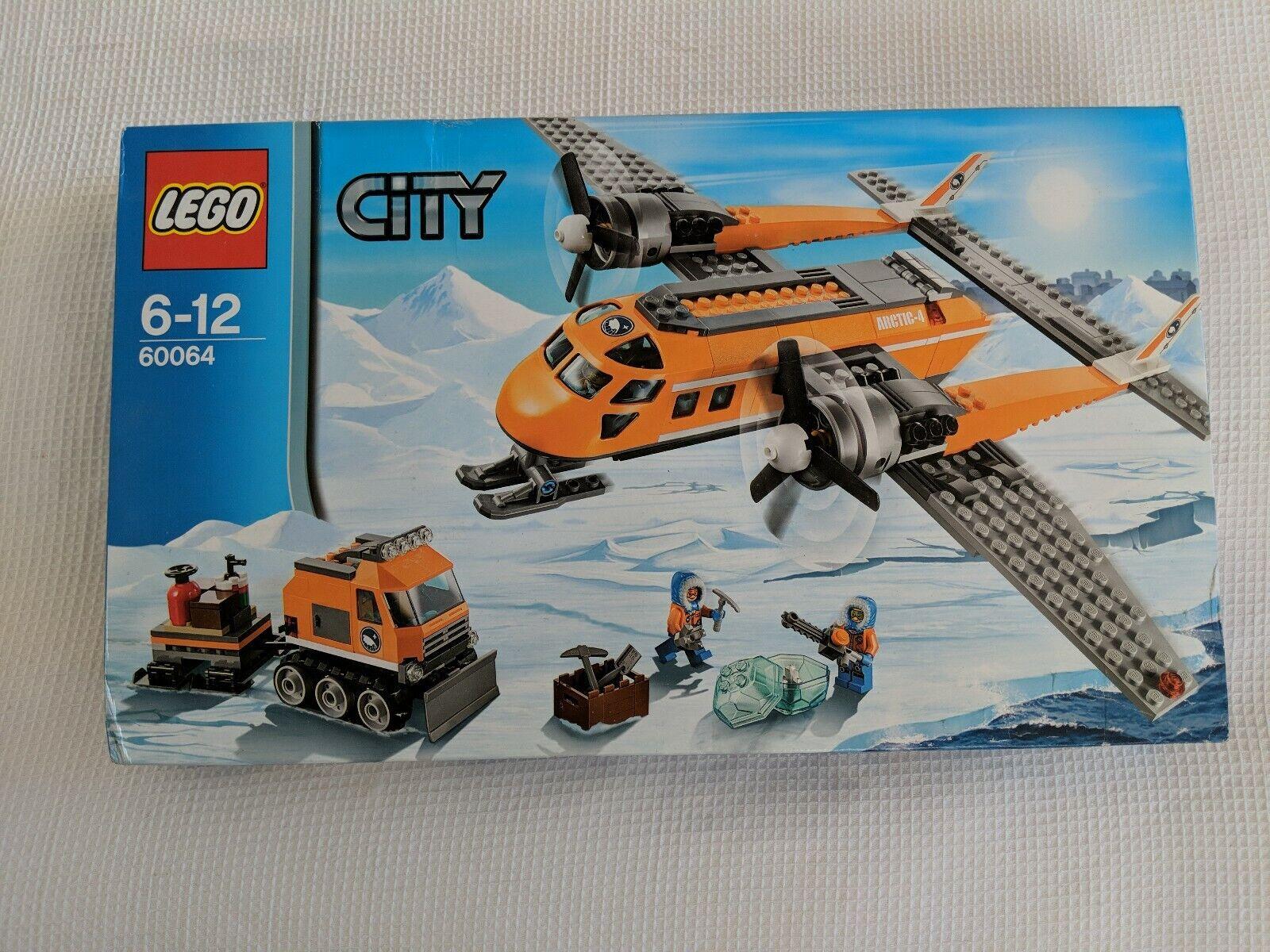 NEW SEALED LEGO 60064 CITY ARCTIC SUPPLY PLANE SET