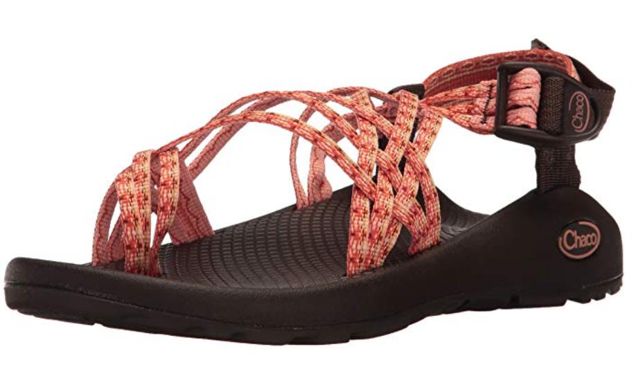 Chaco ZX 3 Classic USA Hiking Sandals Java Ginger orange Womens Sz 6 M  130