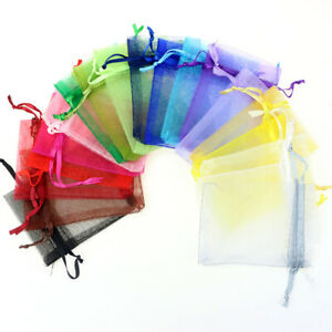 25-50pcs-9x12cm-Organza-Bags-Wedding-Party-Favor-Gift-Candy-Jewelry-Pouches