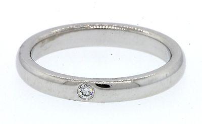 Tiffany Amp Co Elsa Peretti Platinum 03ct Vs Diamond