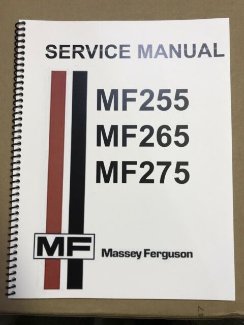 massey ferguson 275 tractor service repair shop manual technical rh ebay com MF 35 Tractor MF 135 Tractor