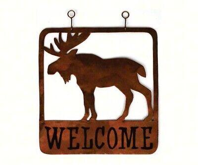TIN SIGN B325 Moose Creek Inn Lodge Cabin Bar Hotel Rustic Cabin Sign Decor