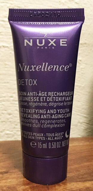 Nuxe Nuxellence DETOX Night Detoxifying and Youth Revealing Anti-Aging Care 15ml