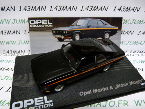 MANTA A Black magic OPE35R voiture 1//43 IXO eagle moss OPEL collection