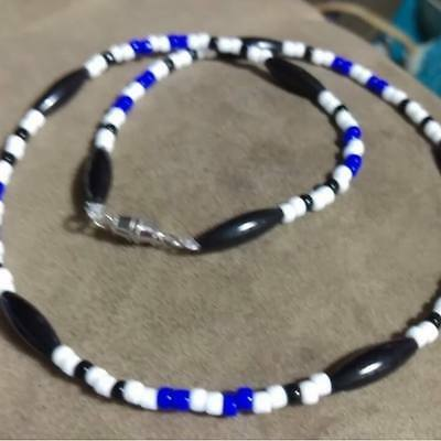 20 1//2 Inch Iraq Service Ribbon Memorial Necklace Style 2