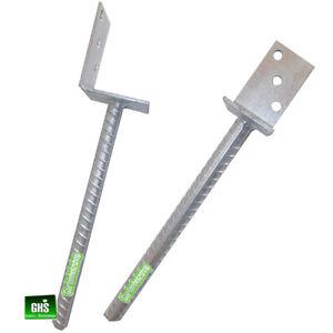 2-er-Set-Betonanker-L-Form-L-Pfostentraeger-mit-Steindolle-40-cm-lang-verzinkt