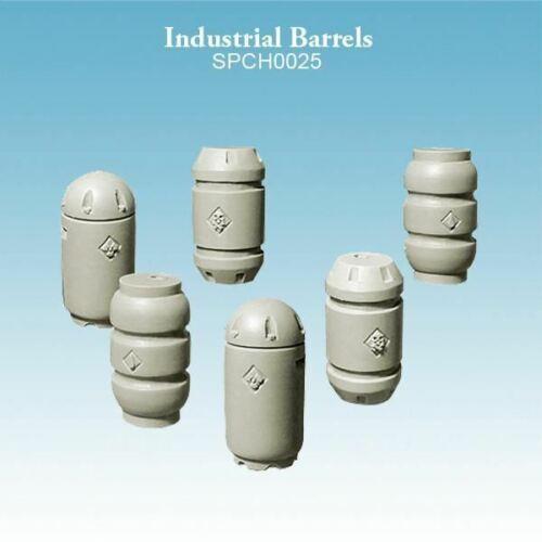 Industrial Barrels Bits Warhammer 40k Compatible Spellcrow Scenery Terrain