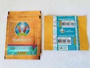Panini - EURO 2020 UEFA TOURNAMENT- 1X Tüte pochette FRANCE VERSION +Front code