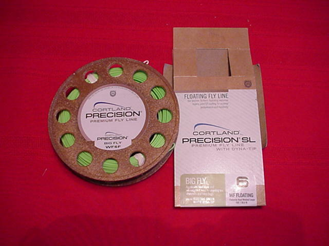 Cortle Precision gree Fly Fly Line WF7F GREAT nuovo