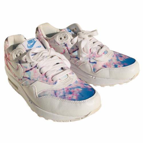 Nike Air Max Women 7 Shoe Sneaker Floral Cherry Bl