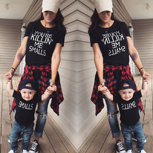 Couple-T-Shirt-DADDY-MOMMY-KID-BABY-Love-Matching-Shirts-Family-Clothes-Tee-Tops