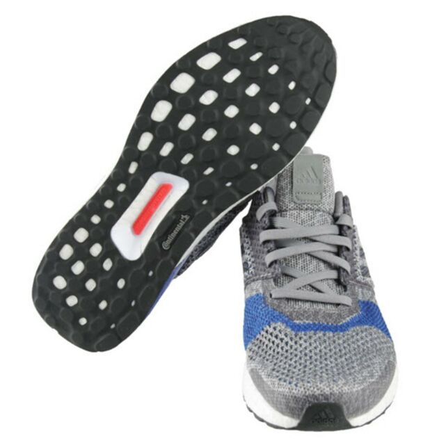 separation shoes 9fee5 c9203 Adidas Men Ultra-Boost ST Shoes Running Gray Blue Sneakers Boot GYM Shoe  B37697