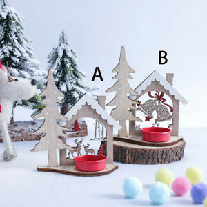 Christmas-Creative-DIY-Wooden-Candlestick-Table-Top-Party-Club-Table-Decor-HOT