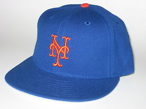 38510b81a59cb New York Mets New Era 5950 Authentic MLB Original Fitted Hat -Grey ...