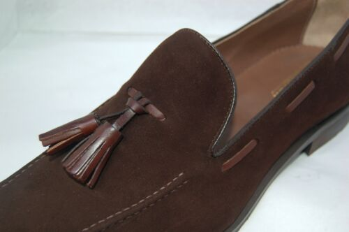 Loafer Camoscio suede mocassino Drk 6½eu Brown tassel Sole Man Tdm 7½usa rubber qwtIAS8Aa