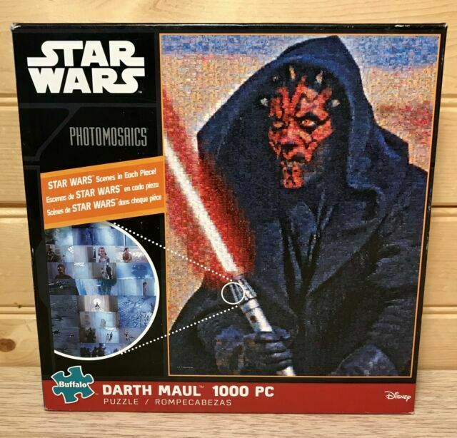 Buffalo Puzzle Star Wars Photomosaics DARTH Maul 1000 pc