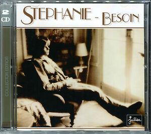 STEPHANIE-BESOIN-OURAGAN-FLASH-LIVE-YOUR-LIFE-REISSUE-2018-2-CD-NEUF