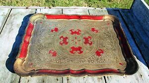 Italian-Mid-Century-Hollywood-Regency-Florentine-Serving-Tray-Large-Red-16-54-034