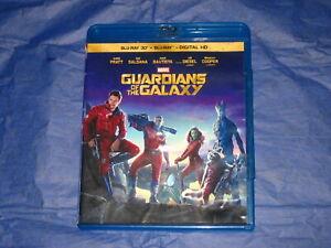 Guardians of the Galaxy Marvel BLU-RAY DISC ONLY Chris Pratt, Zoe Saldana