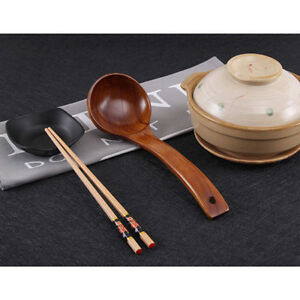 Bamboo-Wooden-Long-Handle-Spoon-Kitchen-Cooking-Soup-Teaspoon-Catering-HZ