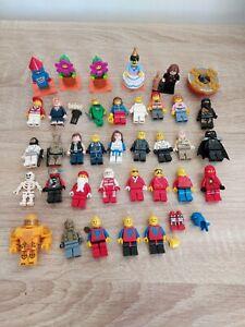LEGO-Minifigure-Lot-40-ans-Ninjago-city-star-wars-Nexo