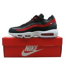 Nike Air Max 95 Essential BlackWhiteRed Silver | 749766 039