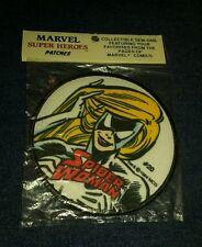 Vintage 1984 Marvel spider woman Superhero Sew-On Patch nip new movie