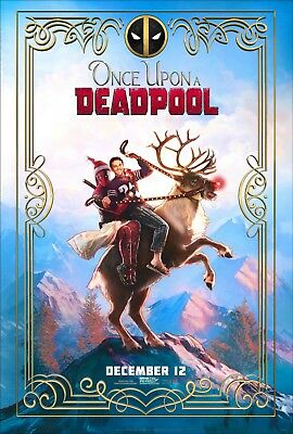 - Ryan Reynolds Fred Savage v1 24x36 Once Upon A Deadpool Movie Poster