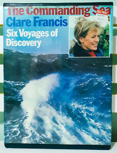 The-Commanding-Sea-Six-Voyages-of-Discovery-HB-DJ-Book-by-Clare-Francis