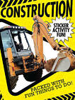Construction Sticker Activity Fun by Little Tiger Press Group (Paperback, 2015)