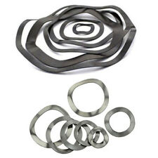 100 Pieces M38*46*0.5mm Wave Washer Spring Washer Carbon Steel Zine Plated