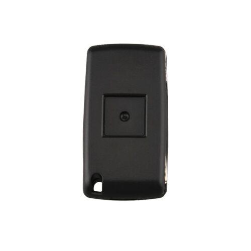 PEUGEOT CITROEN 2Tasten Klappschlüssel Gehäuse Rohling HU83 Schlüssel PKS05A f