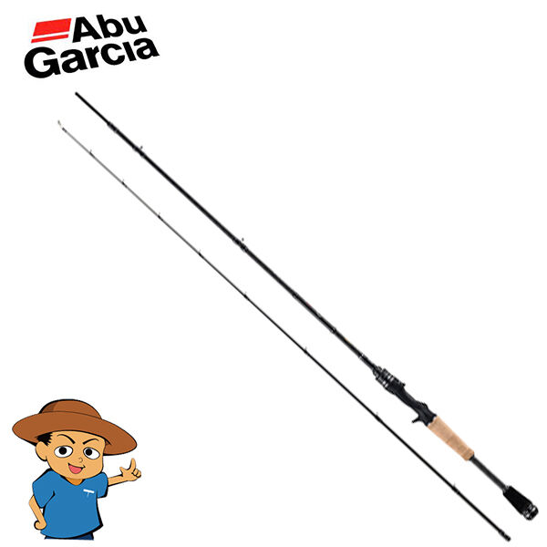 Abu Garcia HORNET STINGER PLUS HSPC-672MH medium heavy bass baitcasting rod