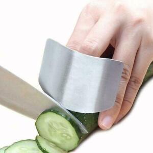 Kuechen-Finger-Hand-Schutz-Schutz-Edelstahl-Chop-Schild-Utensil-G1Y7