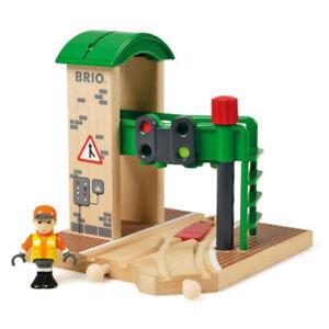 BRIO 33674 segnale stazione per treni in legno Set