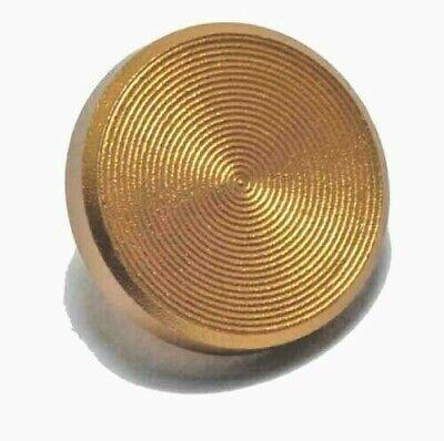 Kood Calidad Plana botón del obturador suave lanzamiento en oro para Olympus Fuji Tornillo en