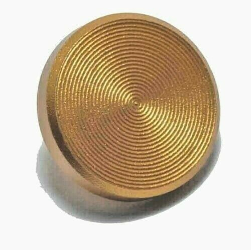 KOOD Quality Flat Shutter Button Soft Release in Gold For Fuji Olympus screw in
