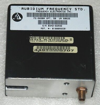 1 Hz to 20 MHz Programmable Rubidium Frequency standard sinewave FE-5680A 1pps